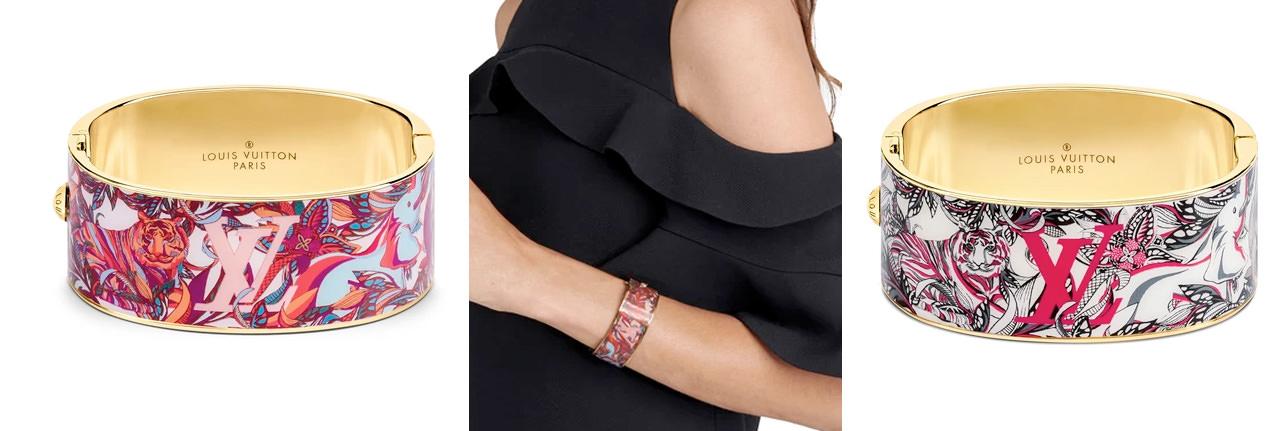 LOUIS VUITTON LV Confidential Bracelet Gm