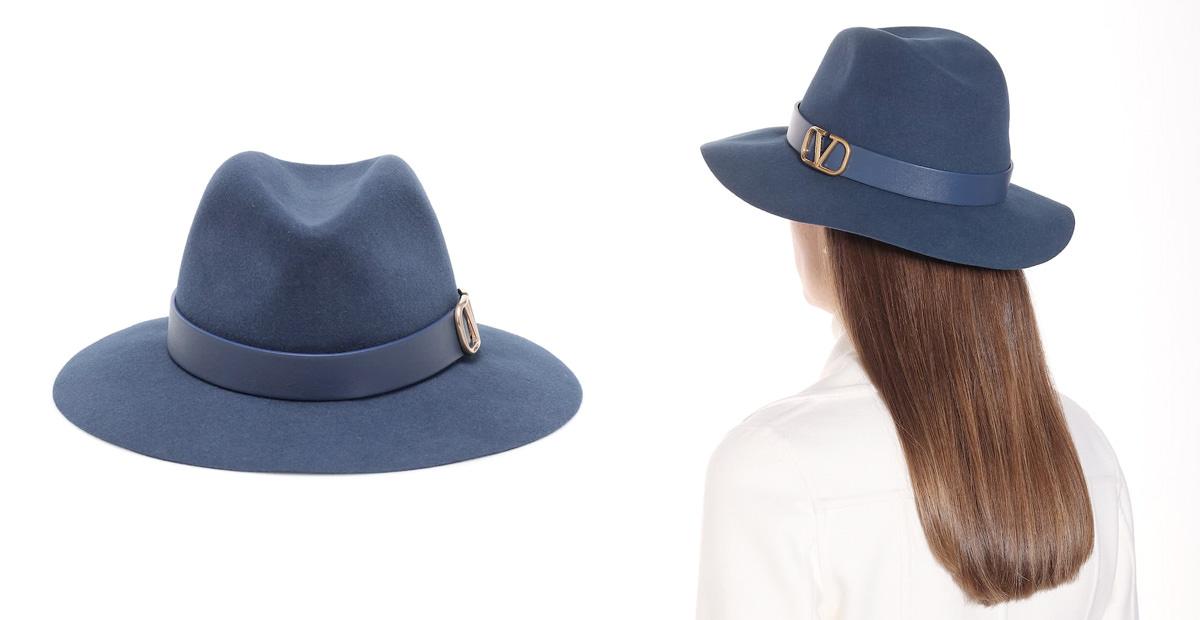 Valentino Garavani VLOGO felt hat