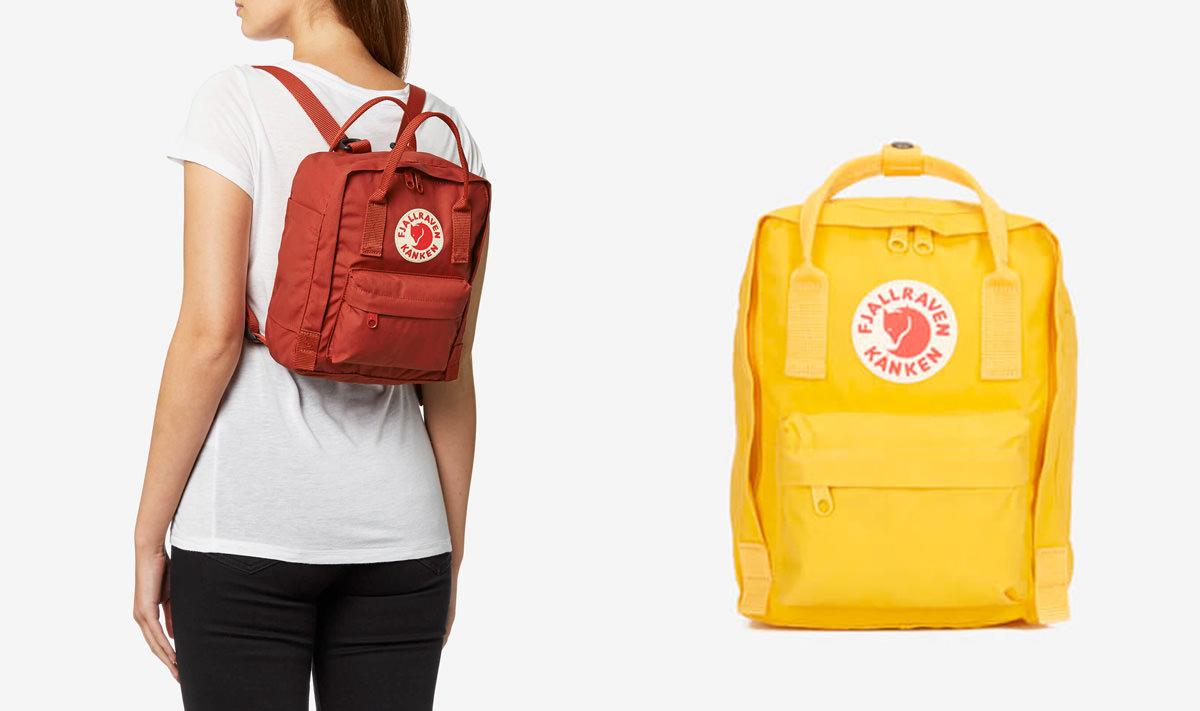 Fjallraven Women's Kanken Mini Backpack - Deep Red