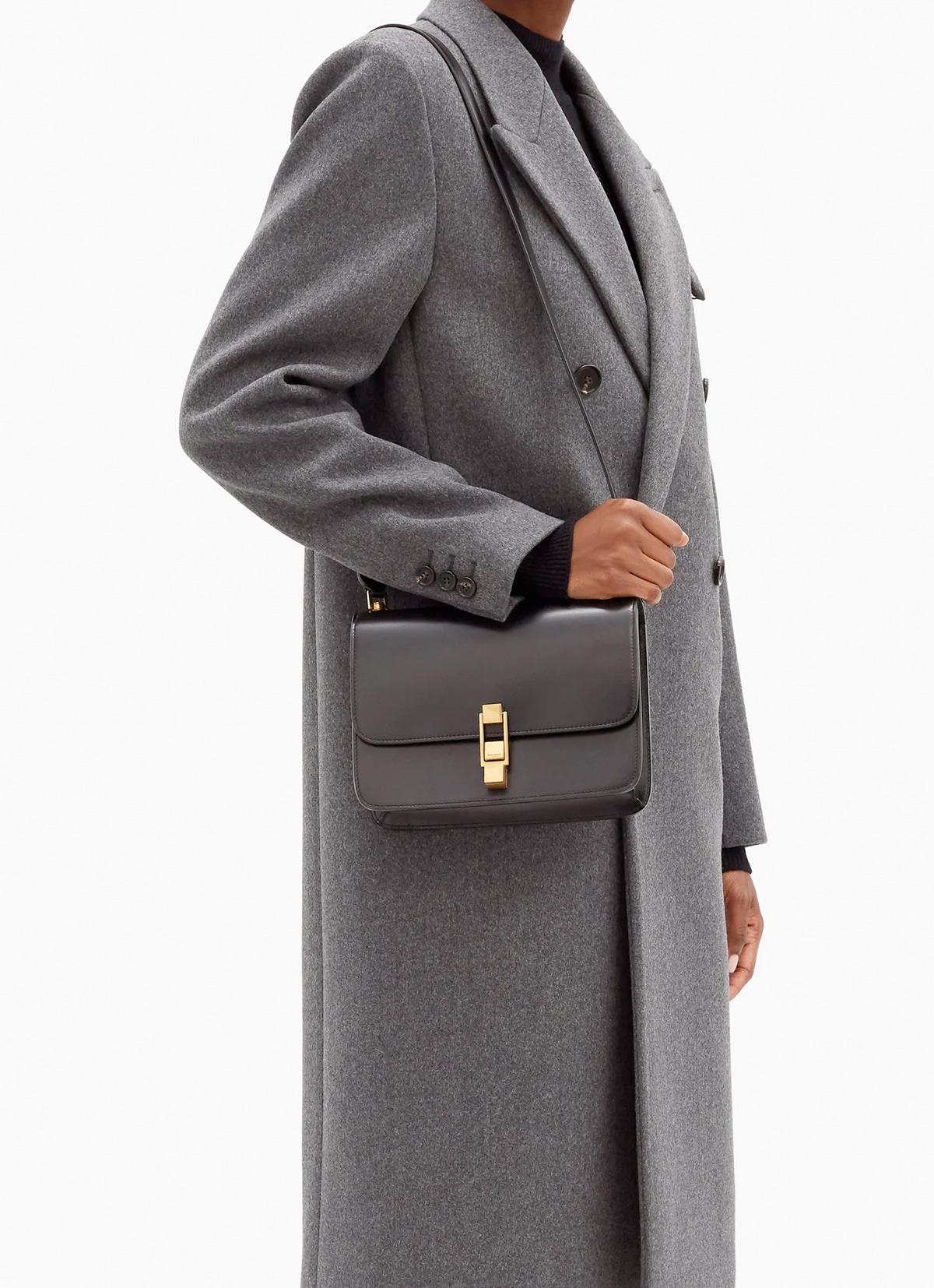 Saint Laurent Carre leather cross-body bag