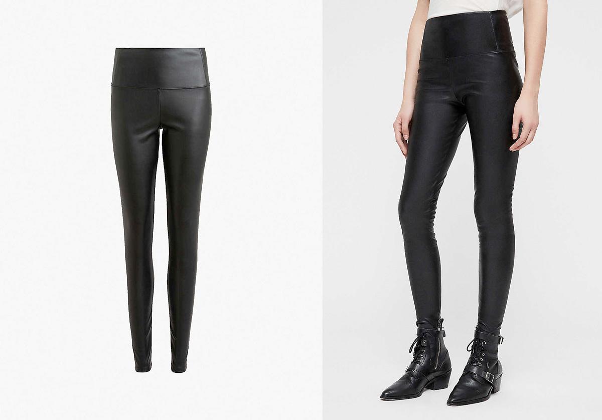 ALLSAINTS Cora faux-leather leggings