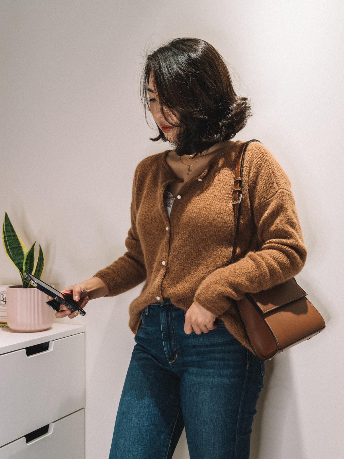【Unboxing】法國品牌Sezane 2件秋冬上衣開箱實穿&尺寸建議:Gaspard Jumper、Mackenzie Shirt