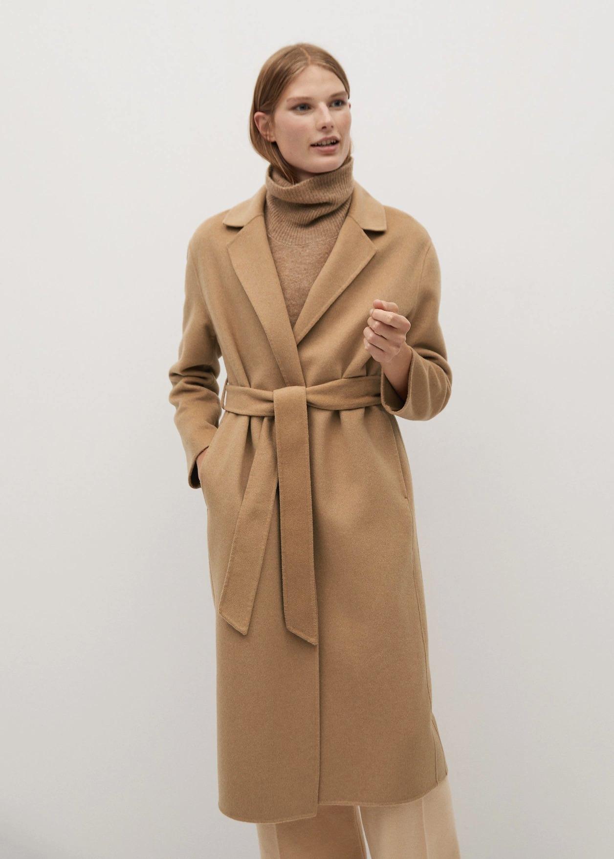 Handmade wool coat
