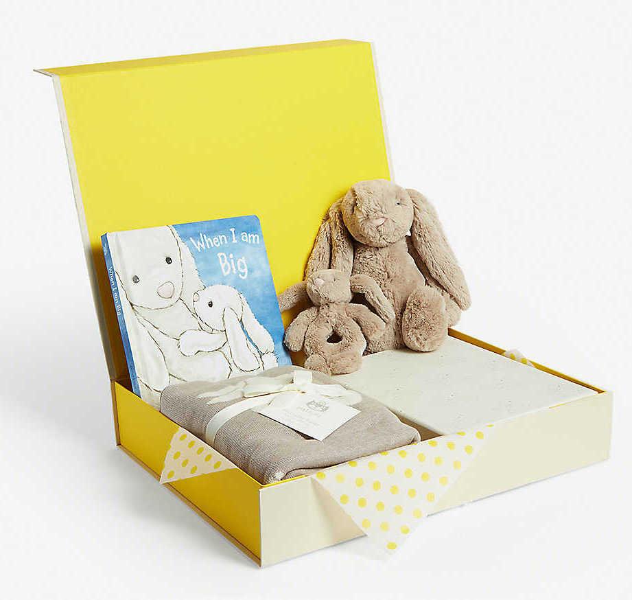 SELFRIDGES Bunny baby hamper