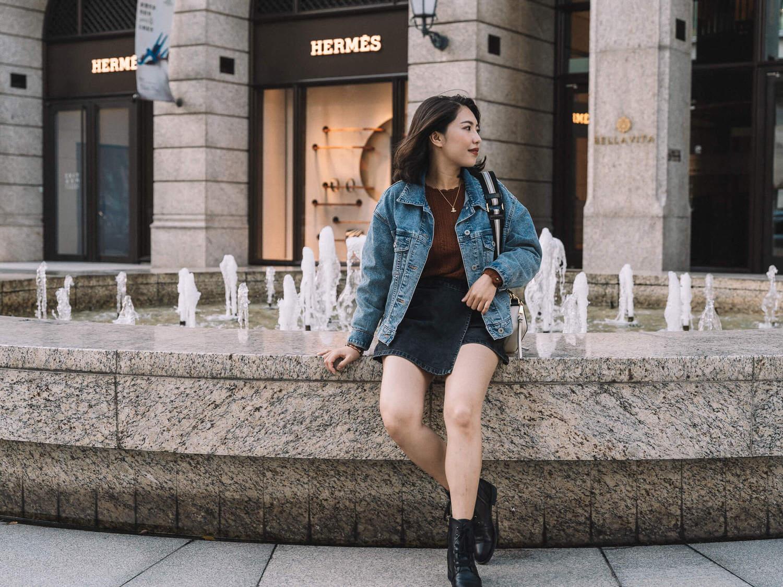 【Outfit】又是Sezane穿搭!😂 Ornella Jumper 很保暖的美麗諾Merino Wool羊毛上衣 & Marc Jacobs Snapshot Bag搭配