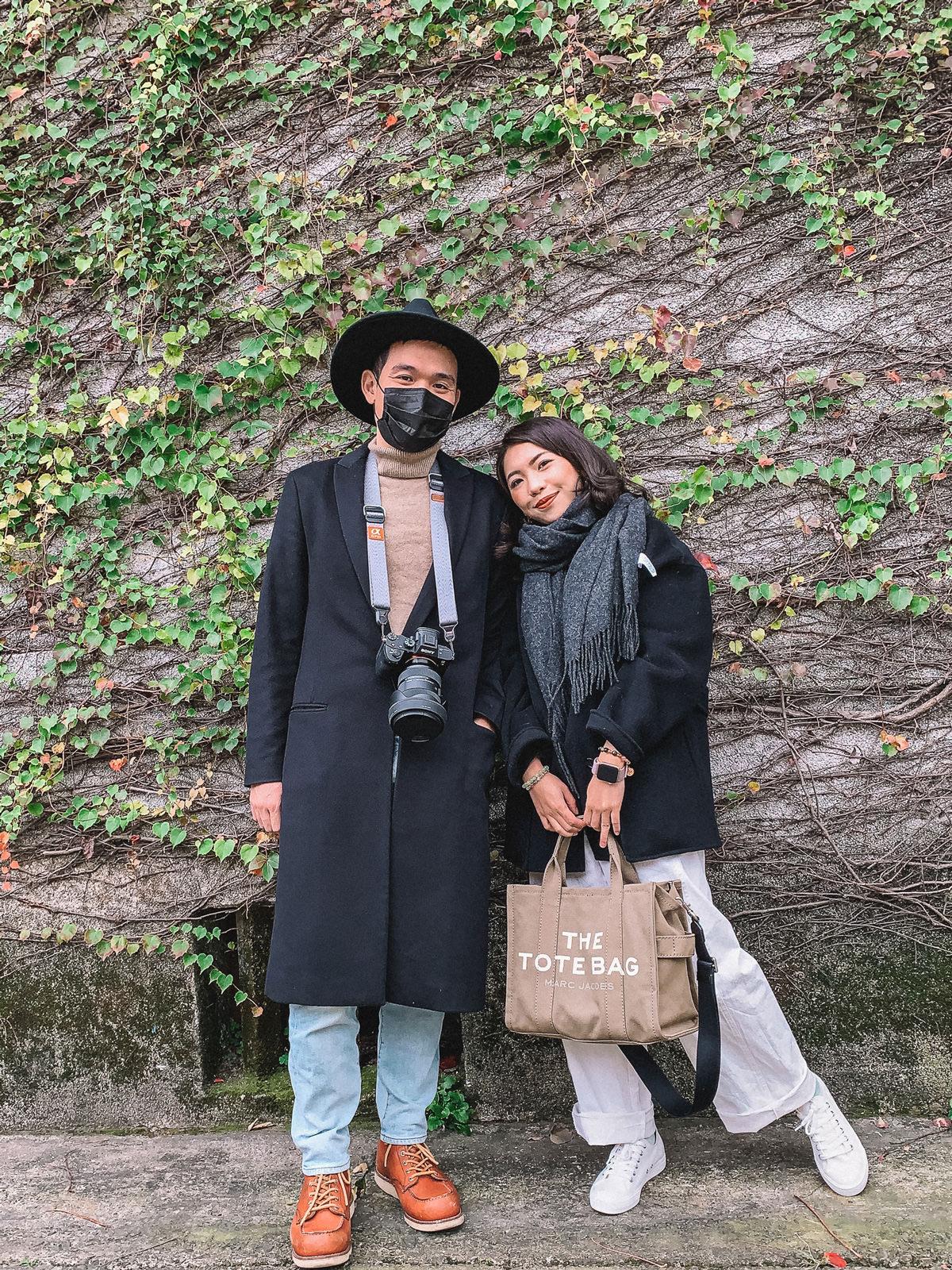 【小隻女穿搭】淘寶羊毛大衣實穿,搭配容量很巨的Marc Jacobs Tote bag 👍