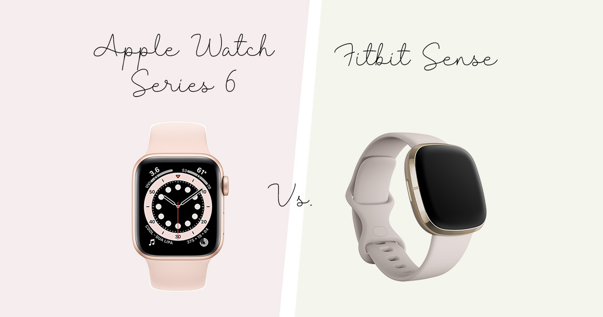 【運動健身】Apple Watch Series 6 vs. Fitbit Sense 我的實際使用心得比較😛