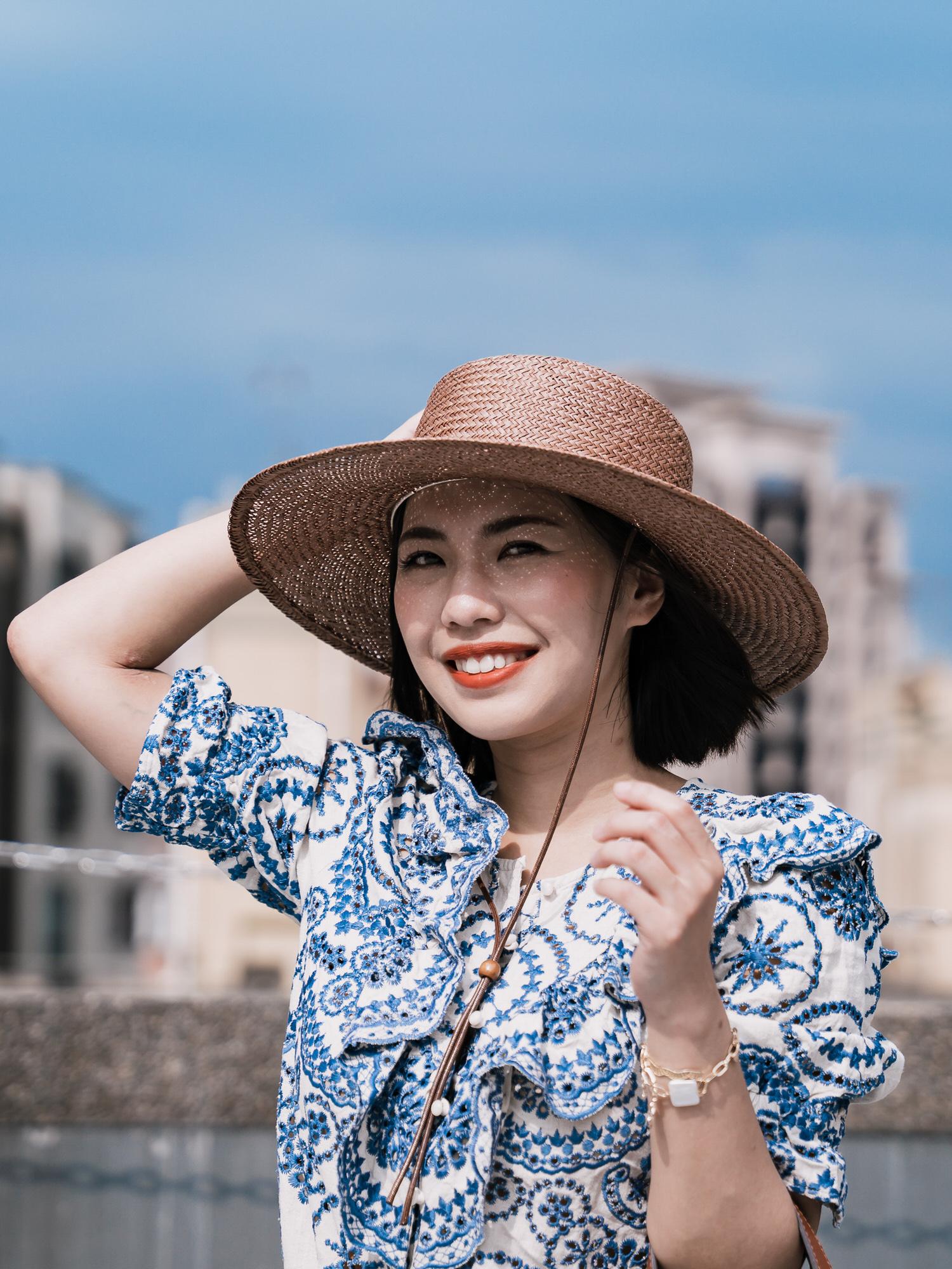 澳洲品牌Lack of Color The Vienna Hat 草編帽開箱~好萊塢明星渡假指定單品,平價且設計超好看的草帽!