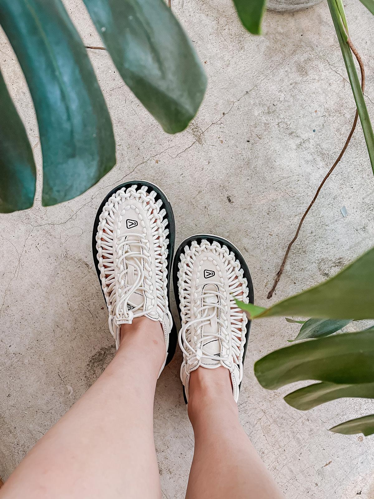 Loobook ∎ 文青風格 KEEN Uneek Sandals入手!屬於小個子女生Uneek日常穿搭分享