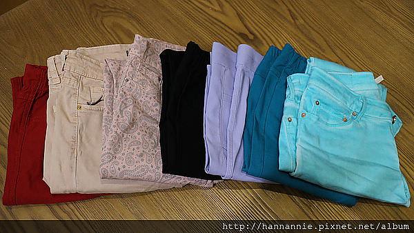 [購物-Annie]PAZZO色褲分享